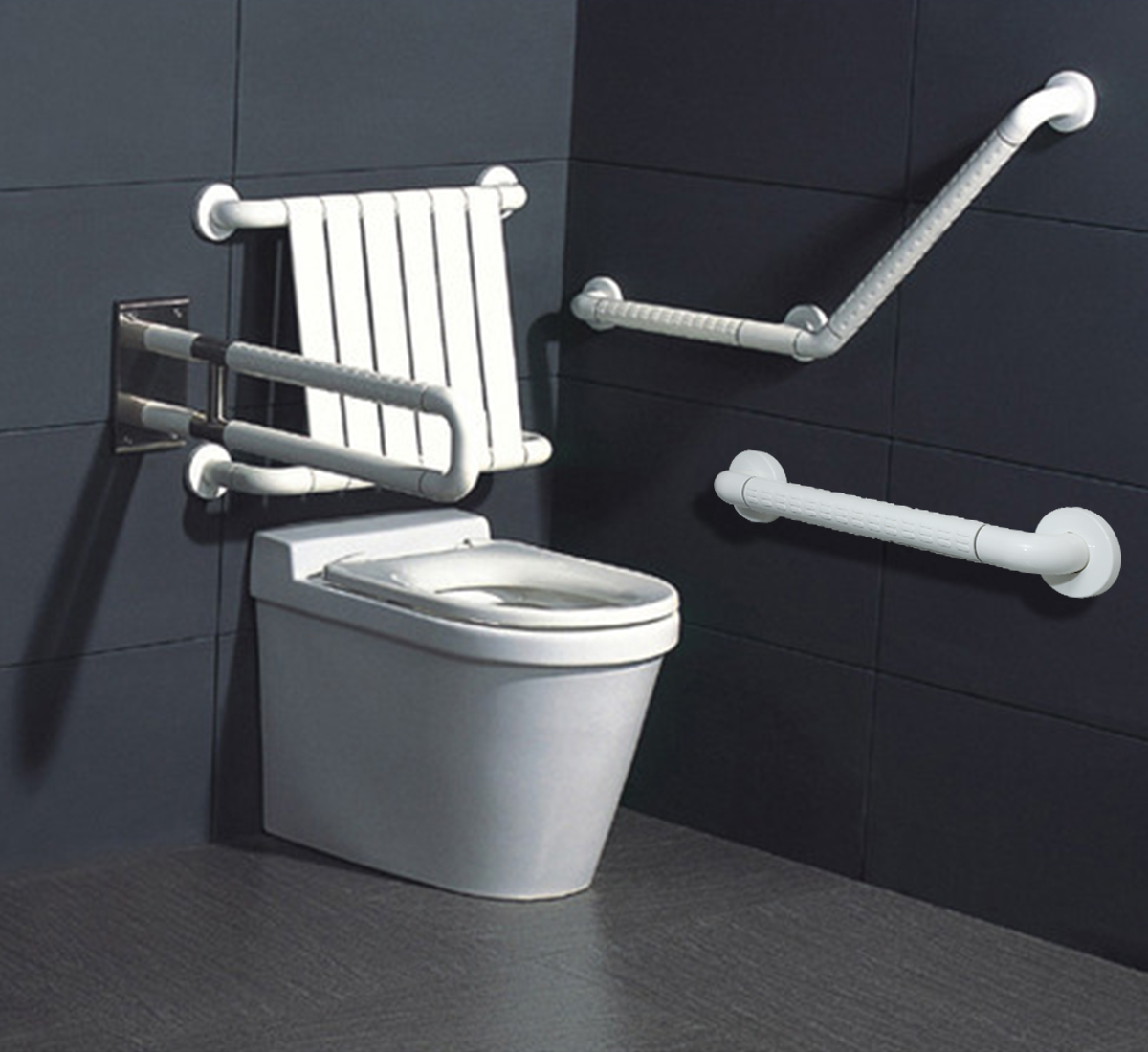 Handicap Grab Bar For Toilet 30, Grab Bars For The Bathroom Near Toilet And Shower System