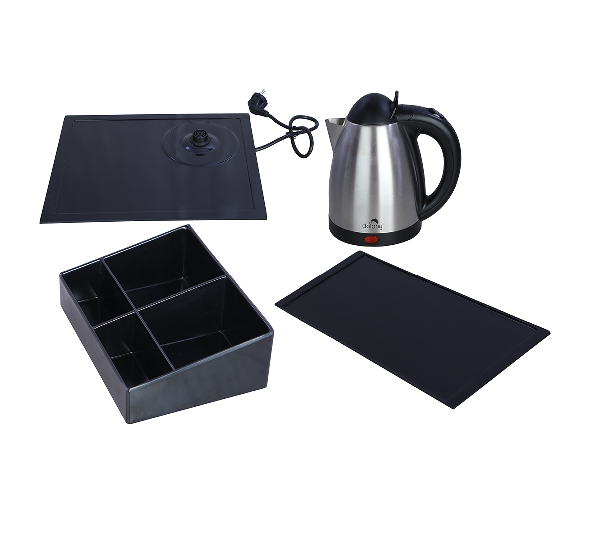 Electric Kettle with Tray Set-DKTL0003