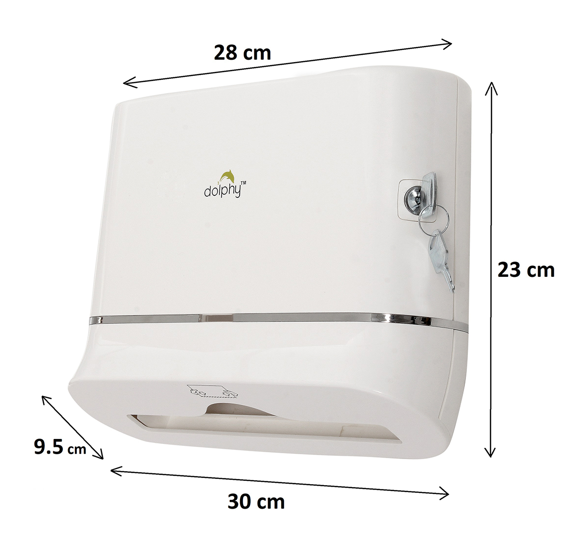 Multifold Mini Hand Towel Paper Dispenser