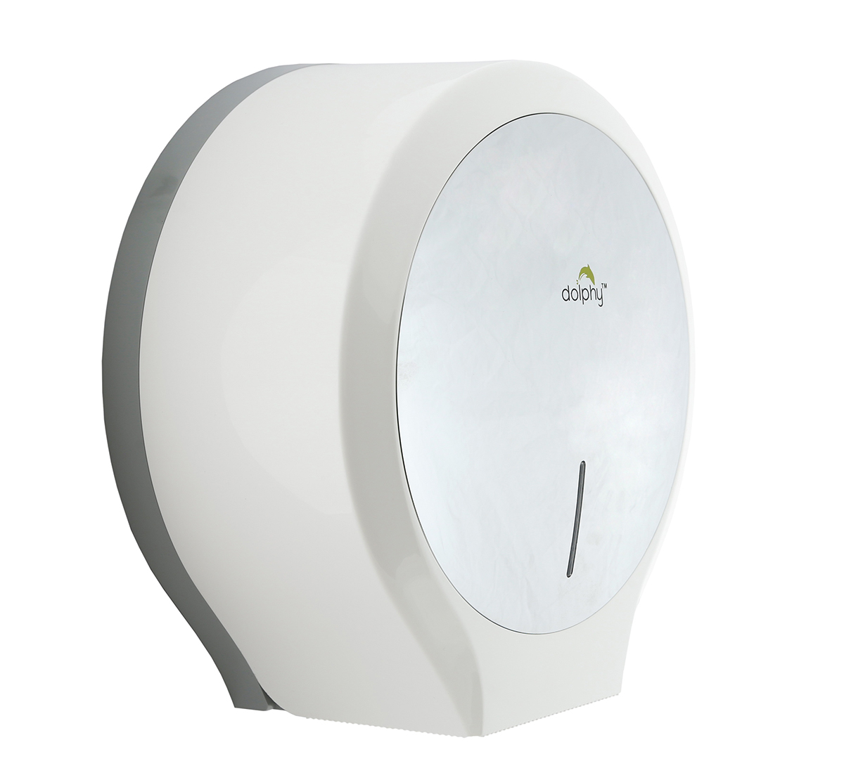 ABS Plastic Mirror Finish Jumbo Roll Toilet Paper Dispenser-DTPR0008