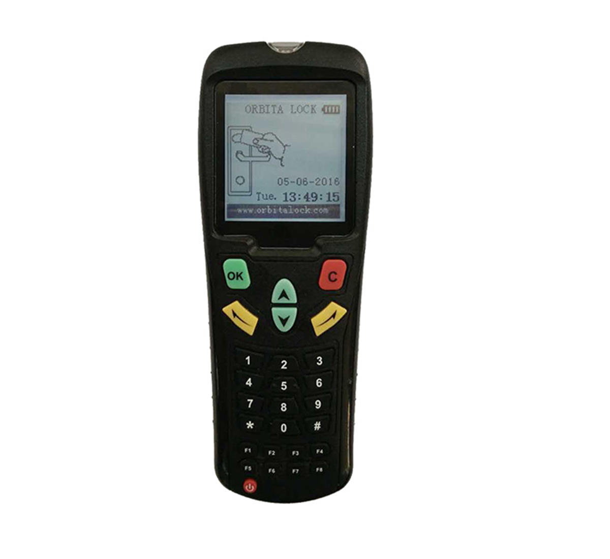 Wireless portable programmer
