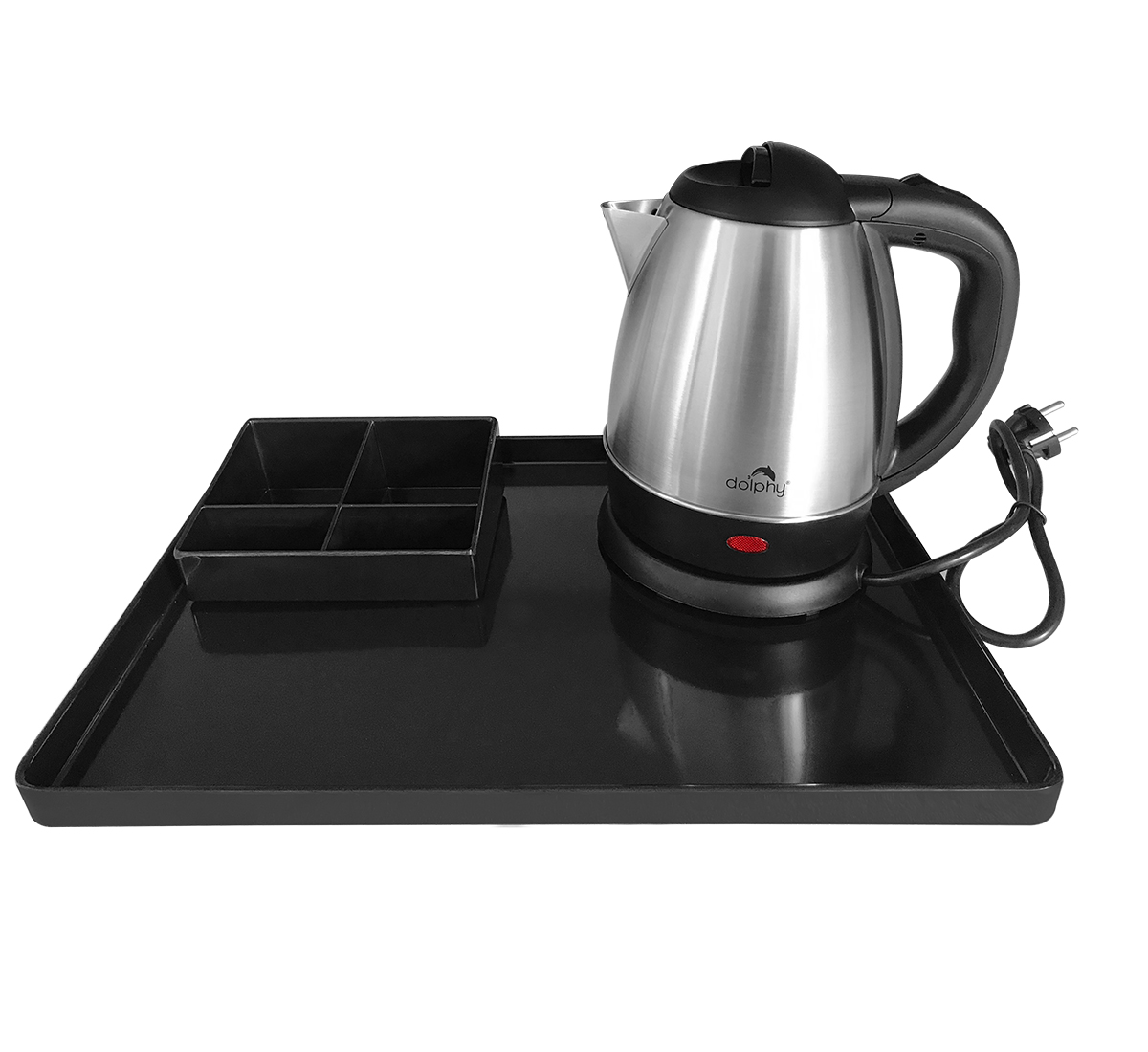 Stainless Steel Kettle with Tray Sets-DKTL0024