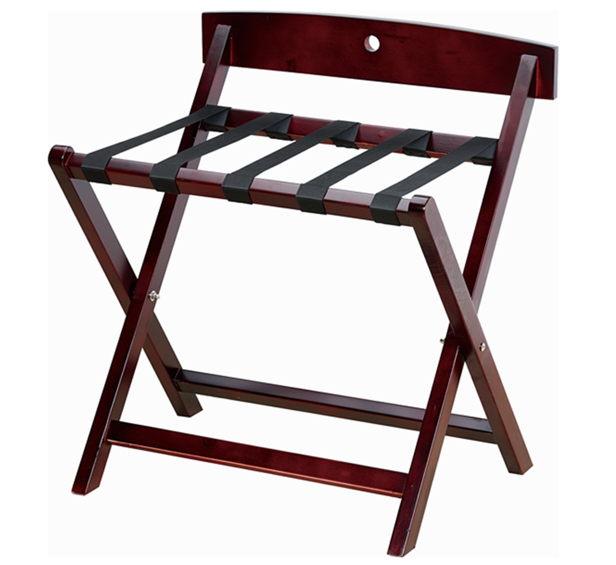 Wood Reese Luggage Rack