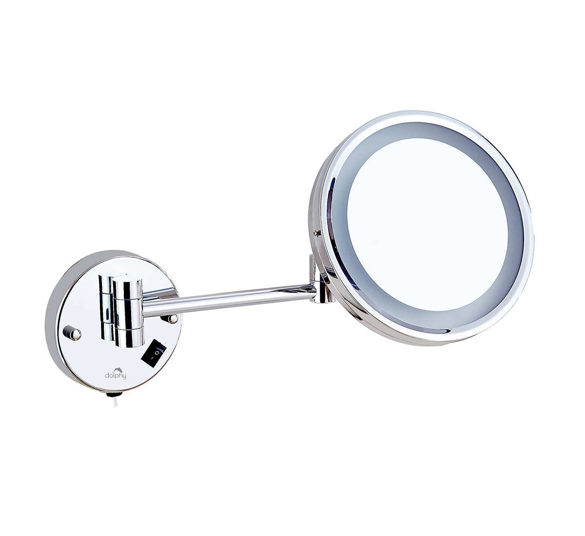 One Side 5X Magnifying LED Mirror