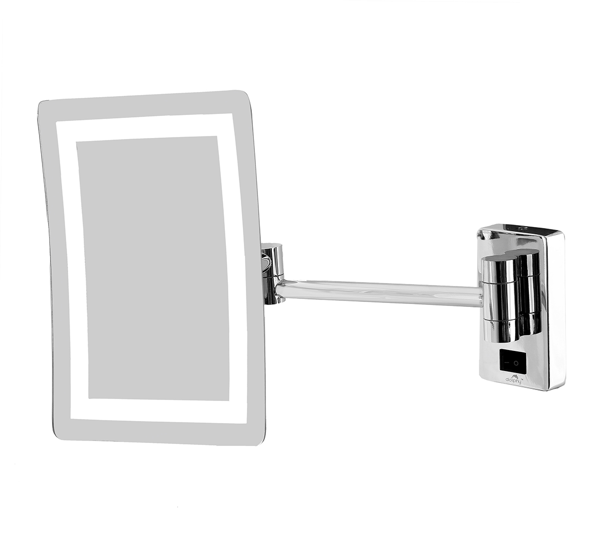 Frameless LED Magnifying Mirror