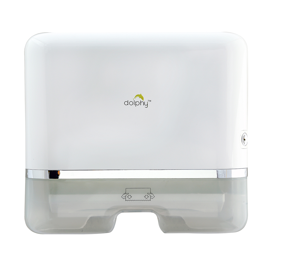 Multifold Mini Hand Towel Paper Dispenser White Color