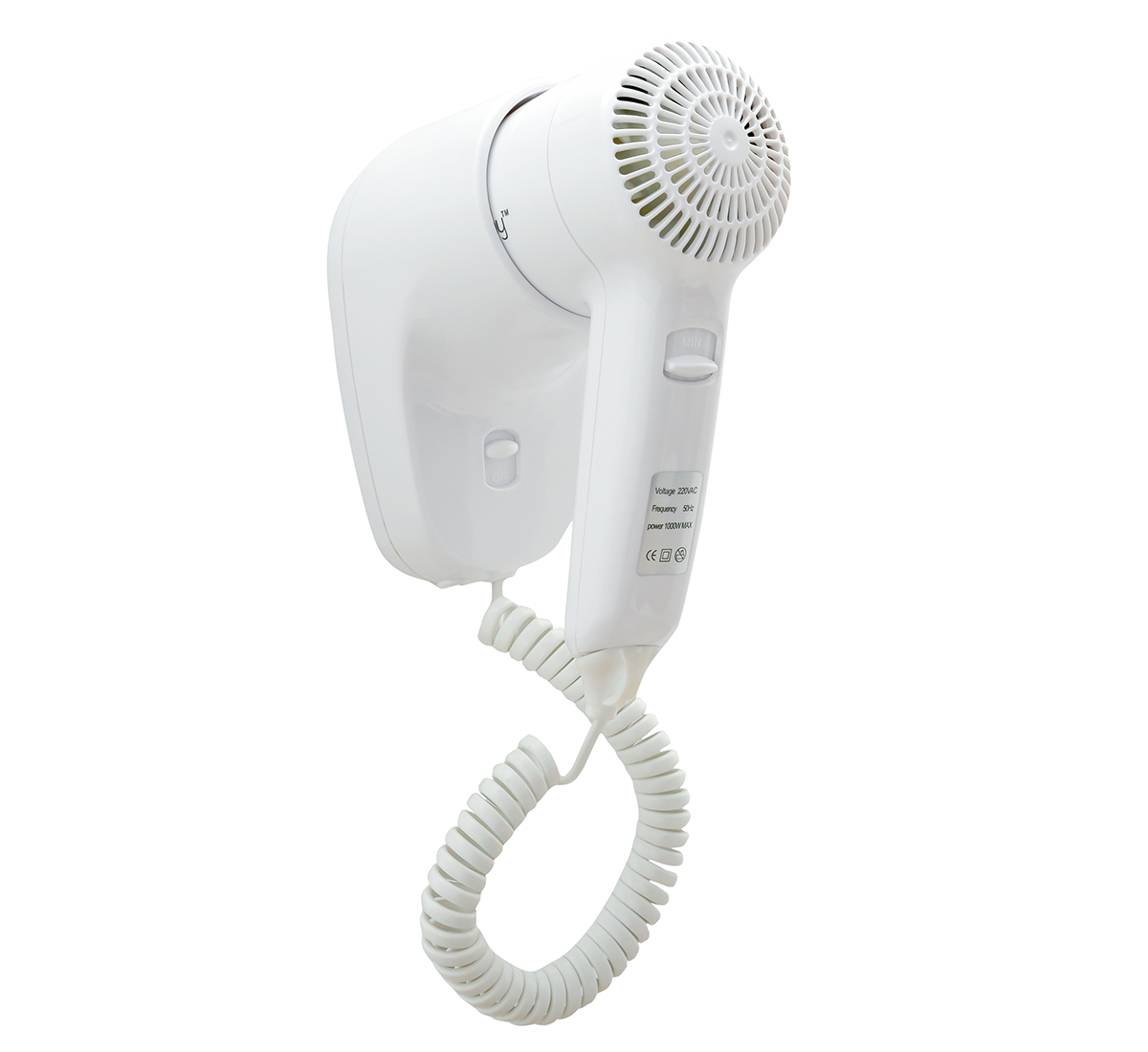 Professional 1000W Wall Mounted Hair Dryer DPHD0002