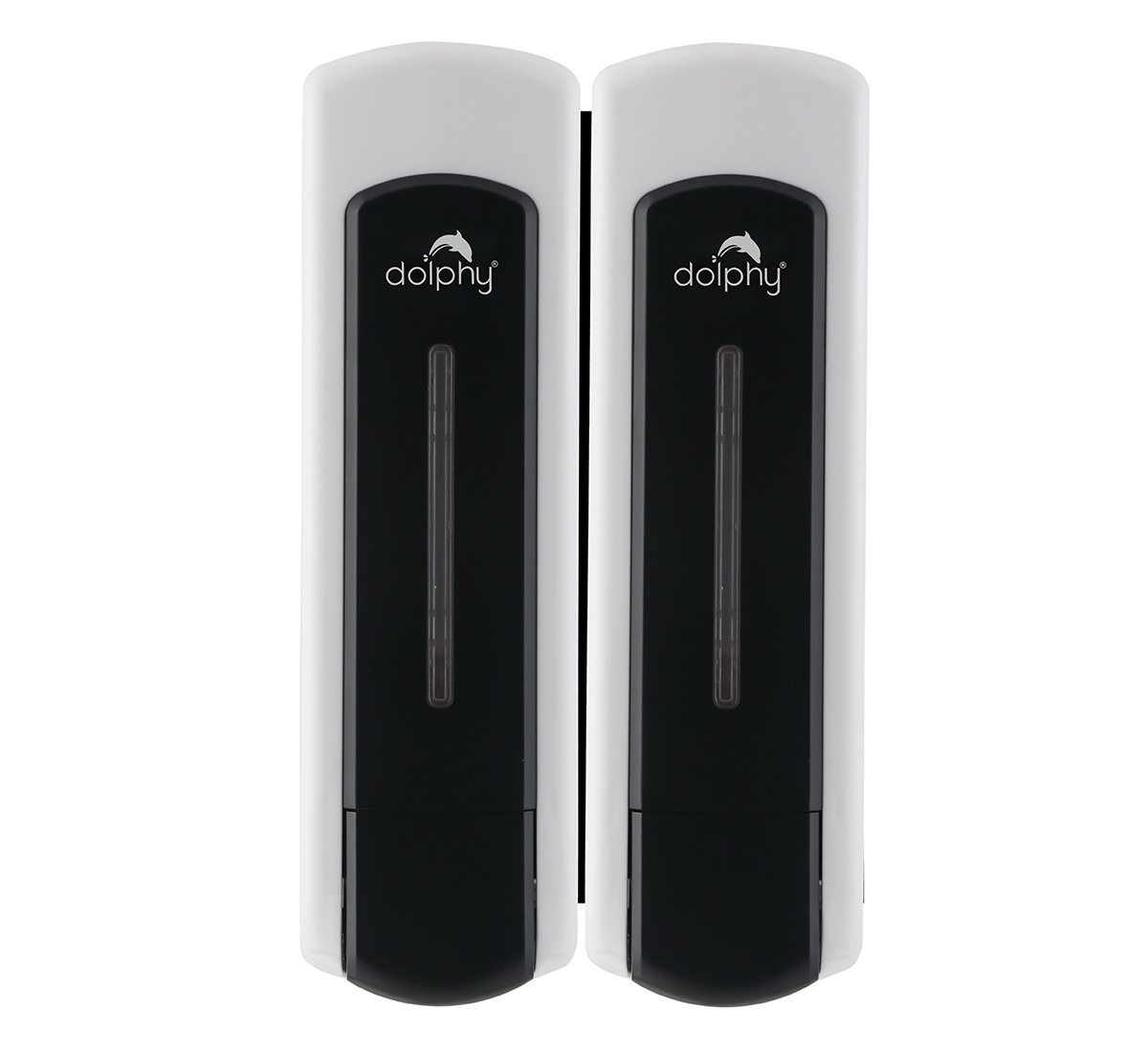 ABS Soap Dispenser Set of 2 Black