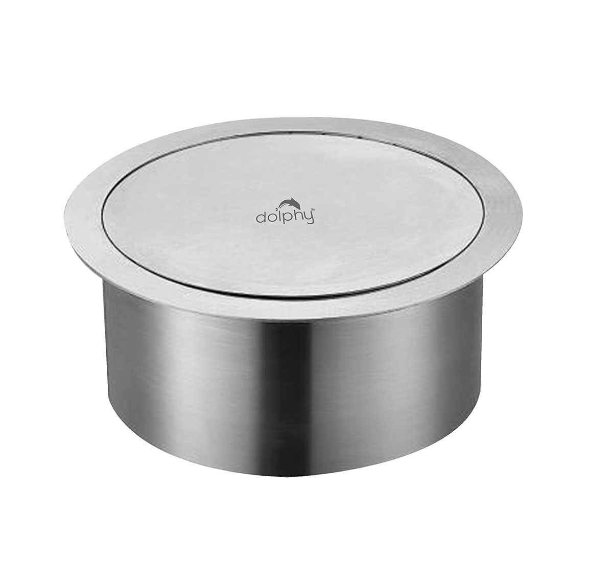 Recessed Counter top Waste bin Flap Swing Cover Lid
