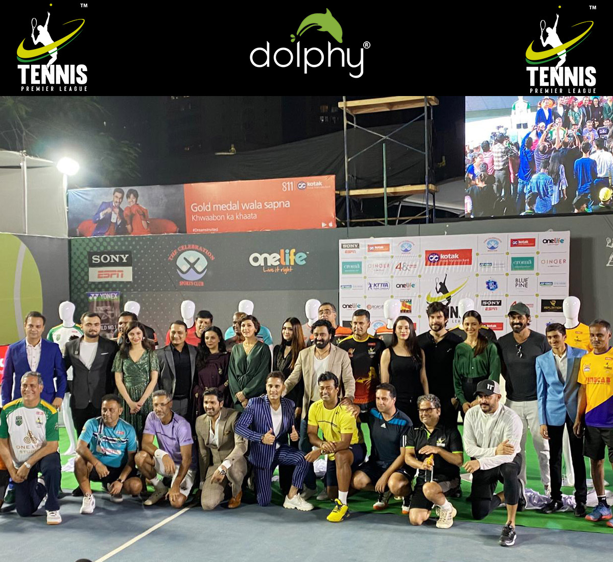 Tennis Premier League-2019 sponsored by dolphy